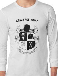 Armitage Army CoA -txt- Long Sleeve T-Shirt