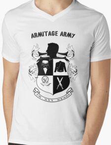Armitage Army CoA -txt- Mens V-Neck T-Shirt