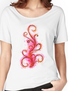 Abstract Flame Women's Relaxed Fit T-Shirt