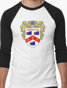McDermott Coat of Arms/Family Crest Men's Baseball ¾ T-Shirt