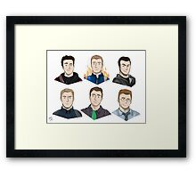 Chris Collection  Framed Print