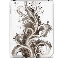 Sepia Abstract Flame iPad Case/Skin