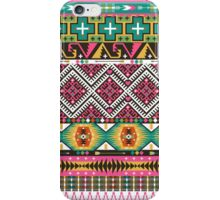 Native american colorful  tribal pattern iPhone Case/Skin