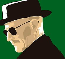 Heisenberg faded cutout by Tilp