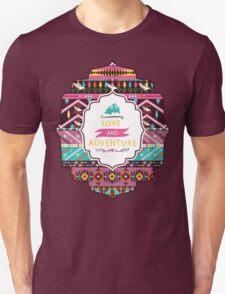 Navajo pattern with geometric elements T-Shirt
