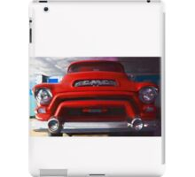 Red Cadillac iPad Case/Skin