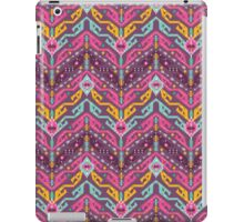 Navajo colorful  tribal pattern with geometric elements iPad Case/Skin