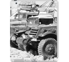 Heavy metal trucks iPad Case/Skin