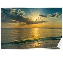 SUNSET ON VANDERBILT BEACH  Poster