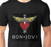 BON JOVI SWORD HEART LOGO BEST Unisex T-Shirt