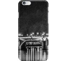 Alte Bruecke in Stark B&W Contrast iPhone Case/Skin
