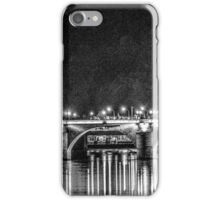 Alte Bruecke in Stark B&W Contrast iPhone Case/Skin