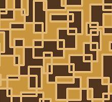 Neutral Splodge Design  by Sookiesooker