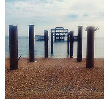 West Pier Photographic Print