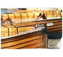 Rowboats at Windermere Poster