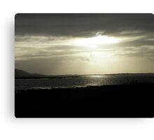 Evening Sunshine Dungloe Ireland Canvas Print