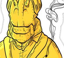 Smoking Hopper Sticker