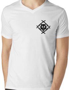 Hollow Squad small FULL Logo Mens V-Neck T-Shirt