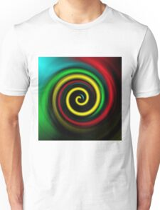 Swirling colours. Unisex T-Shirt