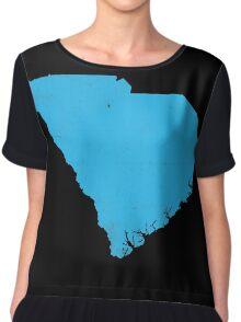 South Carolina Chiffon Top