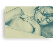 As Heaven Awaits: Celadon Canvas Print