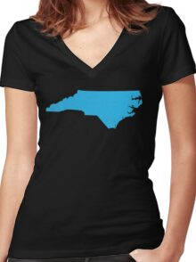 North Carolina Women's Fitted V-Neck T-Shirt