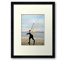 Haaf Fisherman. On The Solway Framed Print