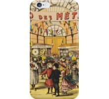 Loto Des Metiers - Loto Des Metiers Poster. Сhildren portrait: Сhildren, kids, Fair, shop, child, kids, toy, boys and girls, boy and girl, Shop toys, childhood iPhone Case/Skin