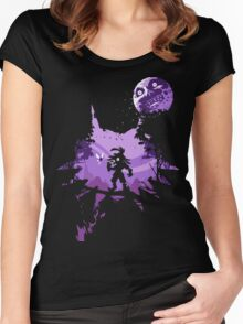 Legend of Zelda - Majora Women's Fitted Scoop T-Shirt