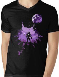 Legend of Zelda - Majora Mens V-Neck T-Shirt