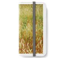 Redwing Blackbird in Grasses iPhone Wallet/Case/Skin