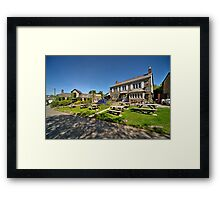 The Blisland Inn  Framed Print