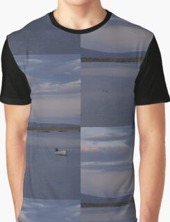 White Boat  Sunset- Burtonport - Donegal -  Ireland Graphic T-Shirt