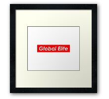 GLOBAL ELITE Framed Print