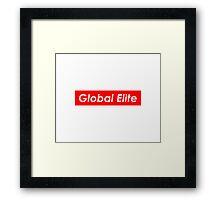 GLOBAL ELITE Framed Print