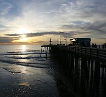 Pismo Sunset by williamsrdan