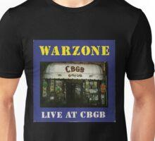warzone live at cbgb Unisex T-Shirt