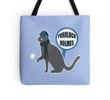 Purrlock Holmes Tote Bag