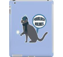 Purrlock Holmes iPad Case/Skin