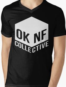 OKNF Crew Tees Mens V-Neck T-Shirt