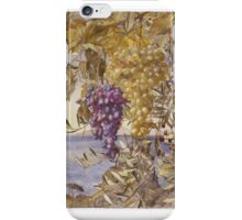 Henry Roderick Newman (American, . Grapes and Olives,  iPhone Case/Skin