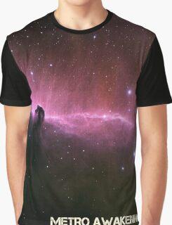 Horse Head- Metro Awakening Coverart Graphic T-Shirt