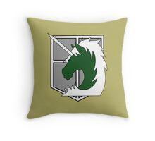 Military Police Throw Pillow