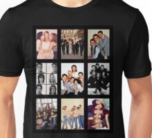 Friends Photoshoot Collage Unisex T-Shirt