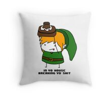 Break shit, get rupees.  Throw Pillow