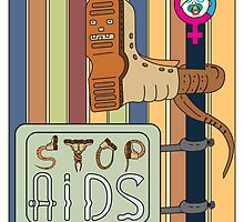 Stop AIDS by MIRVECTORA