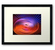 Gamma Ray Pod Framed Print