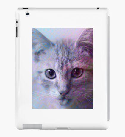 Stamp Cat iPad Case/Skin