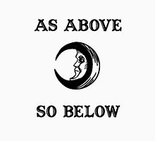 As Above So Below )o( Women's Fitted Scoop T-Shirt