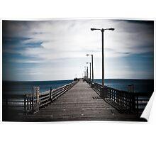 Avila Beach pier Poster